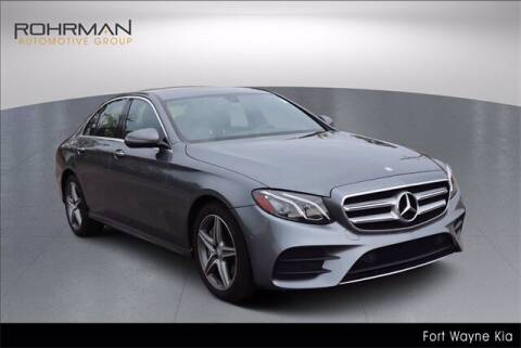 2017 Mercedes-Benz E-Class for sale at BOB ROHRMAN FORT WAYNE TOYOTA in Fort Wayne IN