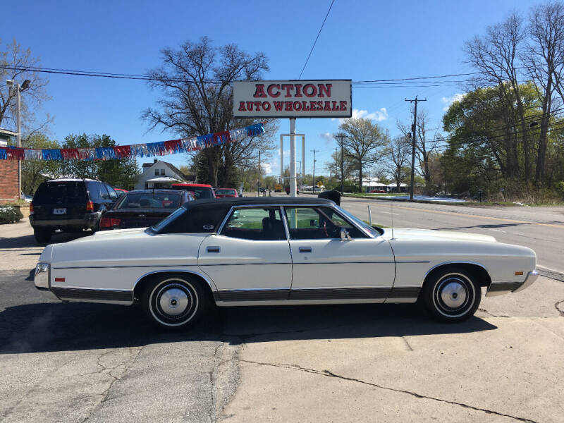 1972 Ford LTD for sale at Action Auto Wholesale in Painesville OH