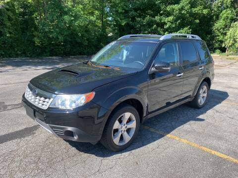 2012 Subaru Forester for sale at TKP Auto Sales in Eastlake OH