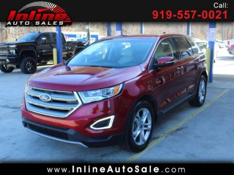 2017 Ford Edge for sale at Inline Auto Sales in Fuquay Varina NC
