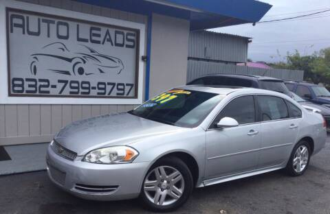 2012 Chevrolet Impala for sale at AUTO LEADS in Pasadena TX
