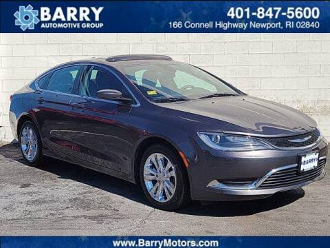 2015 Chrysler 200 for sale at BARRYS Auto Group Inc in Newport RI