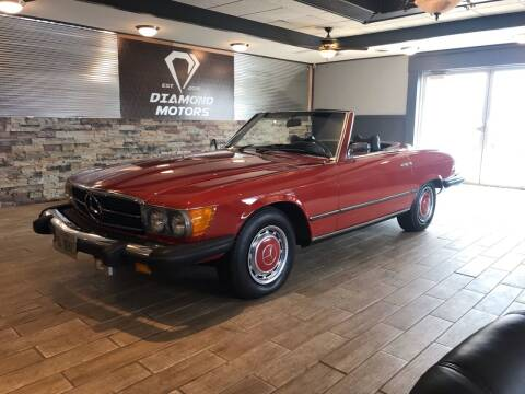 1974 Mercedes-Benz 450 SL for sale at Diamond Motors in Pecatonica IL
