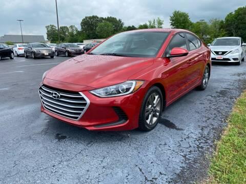 2017 Hyundai Elantra for sale at McCully's Automotive in Benton KY