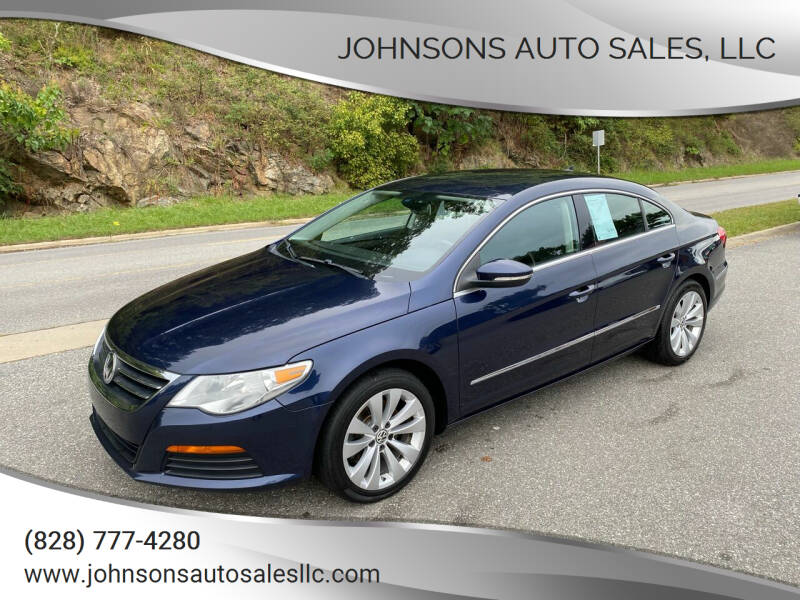 2012 Volkswagen CC for sale at Johnsons Auto Sales, LLC in Marshall NC