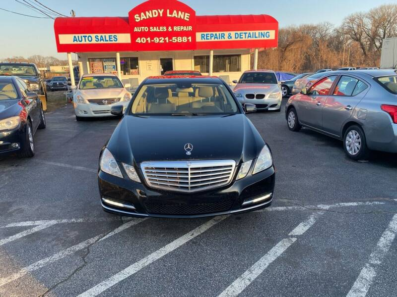 2012 Mercedes-Benz E-Class for sale at Sandy Lane Auto Sales and Repair in Warwick RI