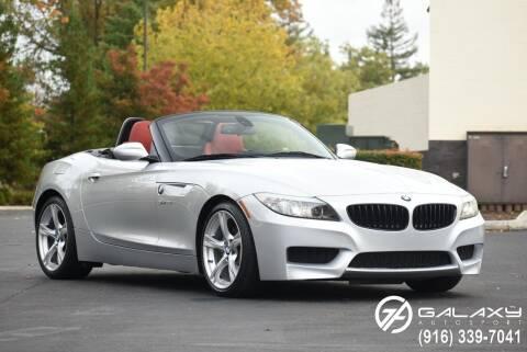 2013 BMW Z4 for sale at Galaxy Autosport in Sacramento CA
