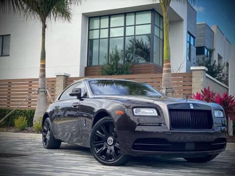 2014 Rolls-Royce Wraith for sale at FALCON AUTO BROKERS LLC in Orlando FL