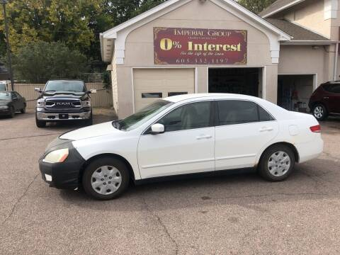 2003 Honda Accord for sale at Imperial Group in Sioux Falls SD