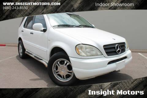 2001 Mercedes-Benz M-Class for sale at Insight Motors in Tempe AZ