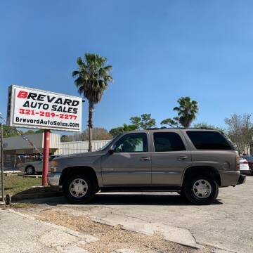 2001 GMC Yukon for sale at Brevard Auto Sales in Palm Bay FL