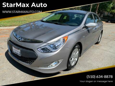 2012 Hyundai Sonata Hybrid for sale at StarMax Auto in Fremont CA