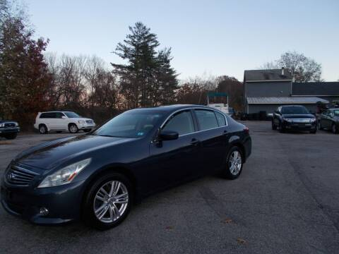 2011 Infiniti G37 Sedan for sale at Manchester Motorsports in Goffstown NH