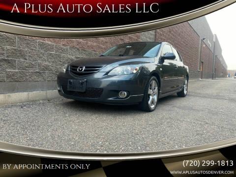 2005 Mazda MAZDA3 for sale at A Plus Auto Sales LLC in Denver CO