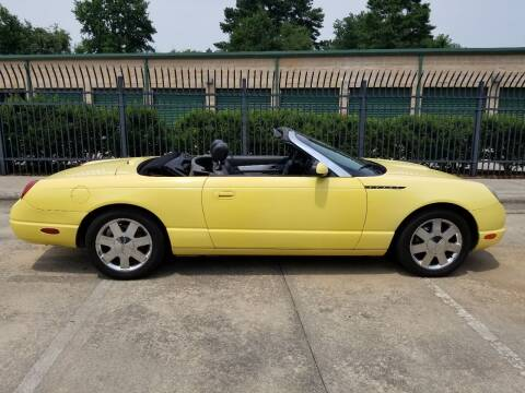 2002 Ford Thunderbird for sale at Hollingsworth Auto Sales in Wake Forest NC