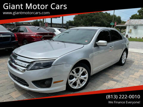 2012 Ford Fusion for sale at Giant Motor Cars in Tampa FL