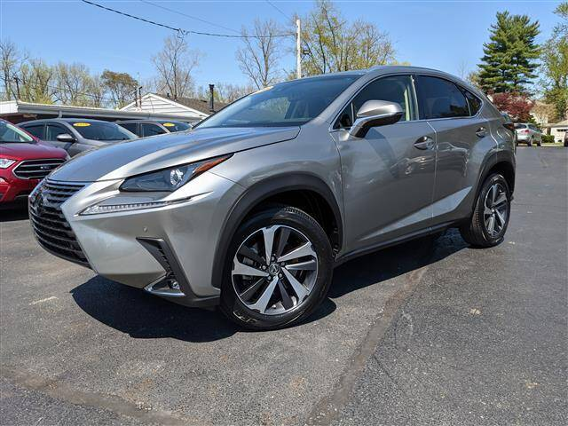 2018 Lexus NX 300 for sale at GAHANNA AUTO SALES in Gahanna OH