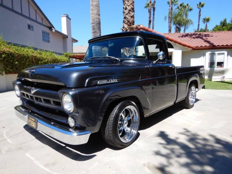 1957 Ford F-100 for sale at California Cadillac & Collectibles in Los Angeles CA