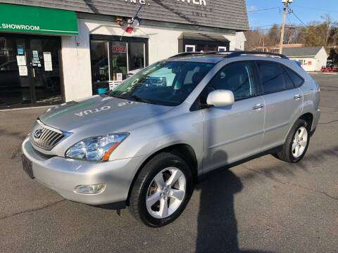 2008 Lexus RX 350 for sale at Auto Sales Center Inc in Holyoke MA