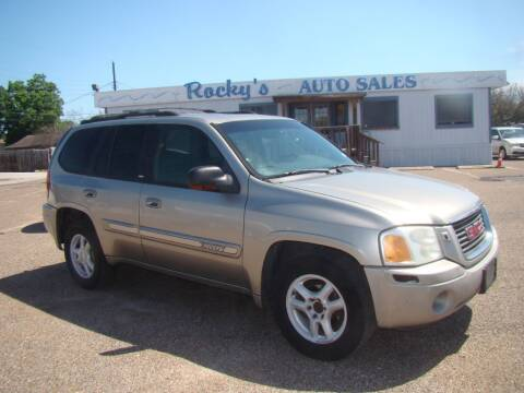 2002 GMC Envoy for sale at Rocky's Auto Sales in Corpus Christi TX