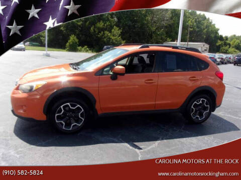 2014 Subaru XV Crosstrek for sale at Carolina Motors at the Rock in Rockingham NC