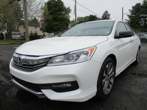 2016 Honda Accord for sale at PRESTIGE IMPORT AUTO SALES in Morrisville PA