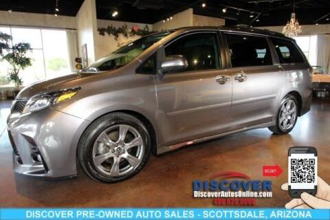 2018 Toyota Sienna for sale at Discover Pre-Owned Auto Sales in Scottsdale AZ