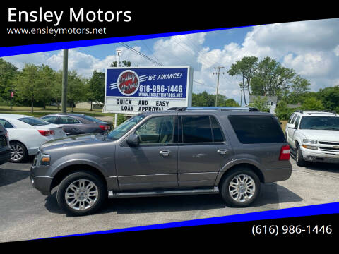 2011 Ford Expedition for sale at Ensley Motors in Allendale MI