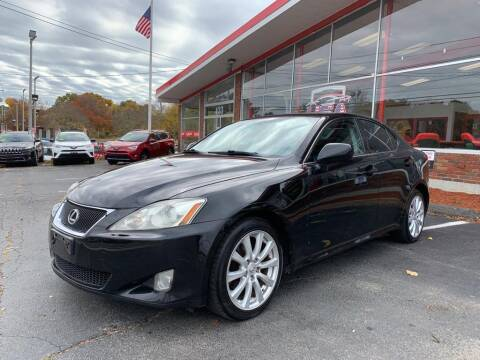 2008 Lexus IS 250 for sale at USA Motor Sport inc in Marlborough MA