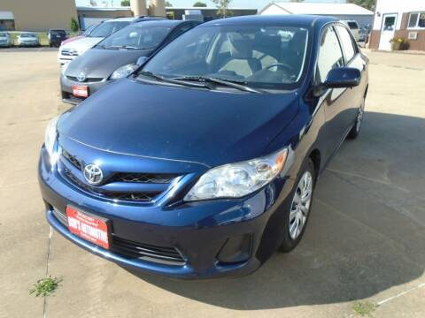 2012 Toyota Corolla for sale at BOBS AUTOMOTIVE INC in Fairfield IA