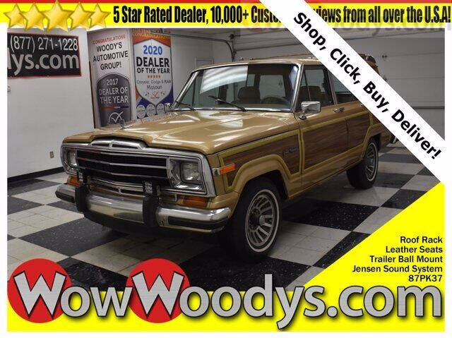 1987 Jeep Grand Wagoneer for sale in Chillicothe, MO