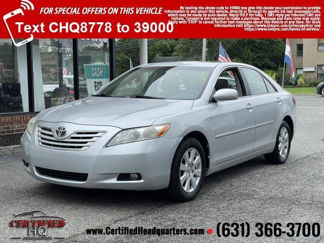 2007 Toyota Camry for sale at CERTIFIED HEADQUARTERS in Saint James NY