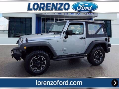 2018 Jeep Wrangler JK for sale at Lorenzo Ford in Homestead FL