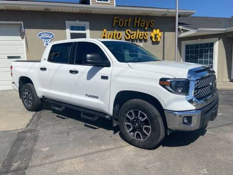 2020 Toyota Tundra for sale at Fort Hays Auto Sales in Hays KS