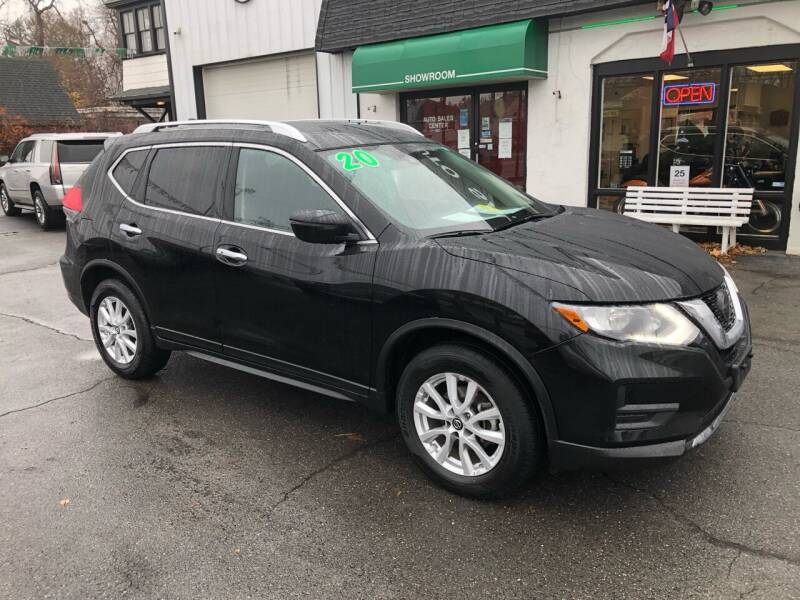 2020 Nissan Rogue for sale at Auto Sales Center Inc in Holyoke MA