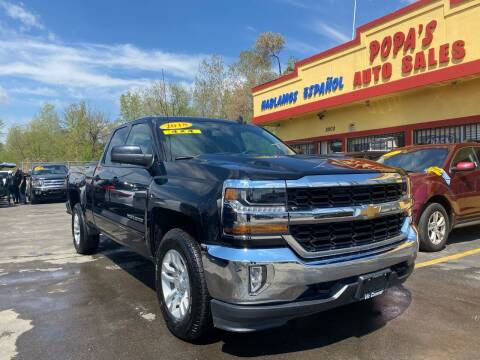 2018 Chevrolet Silverado 1500 for sale at Popas Auto Sales in Detroit MI