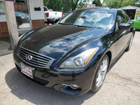 2011 Infiniti G37 Coupe for sale at New Wheels in Glendale Heights IL