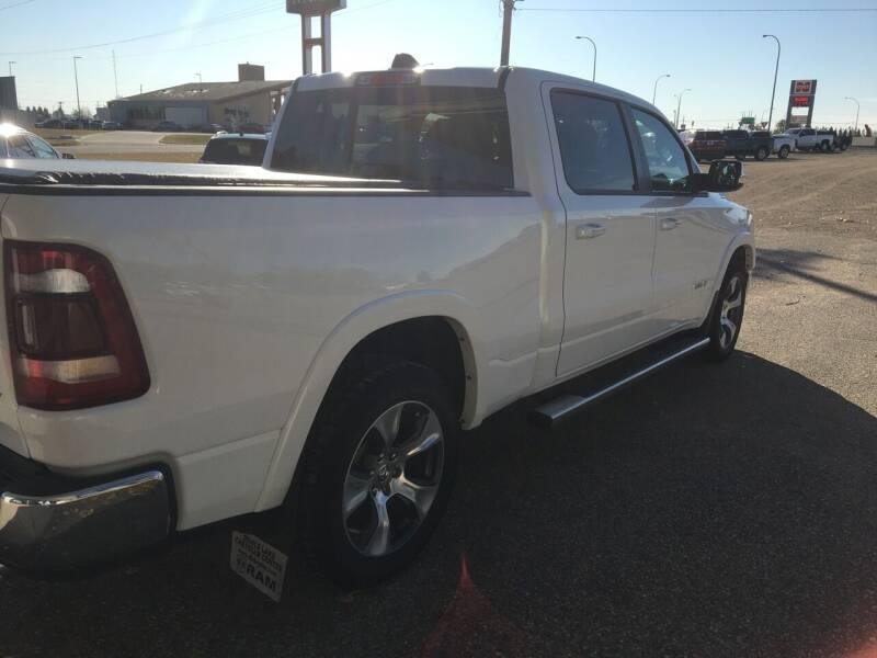 2019 RAM Ram Pickup 1500 4x4 Laramie 4dr Crew Cab 6.4 ft. SB Pickup - Rugby ND