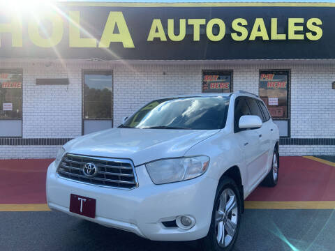 2010 Toyota Highlander for sale at HOLA AUTO SALES CHAMBLEE- BUY HERE PAY HERE - in Atlanta GA