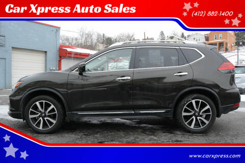 2017 Nissan Rogue for sale at Car Xpress Auto Sales in Pittsburgh PA