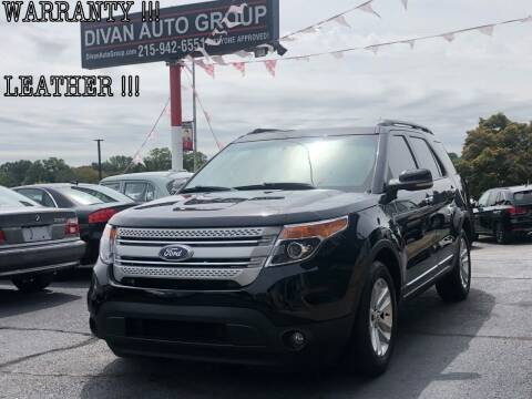 2012 Ford Explorer for sale at Divan Auto Group in Feasterville PA