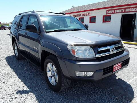 2005 Toyota 4Runner for sale at Sarpy County Motors in Springfield NE