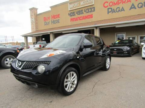 2012 Nissan JUKE for sale at Import Motors in Bethany OK