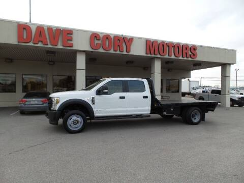 2019 Ford F-550 Super Duty for sale at DAVE CORY MOTORS in Houston TX
