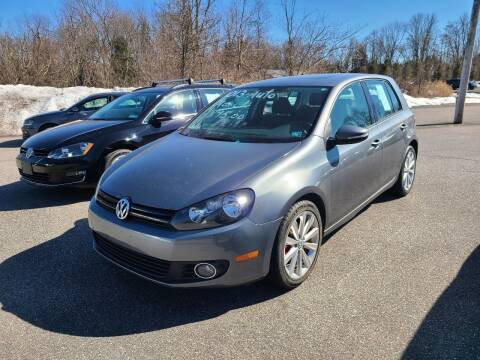 2013 Volkswagen Golf for sale at ULRICH SALES & SVC in Mohnton PA
