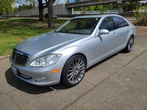 2007 Mercedes-Benz S-Class for sale at EXECUTIVE AUTOSPORT in Portland OR