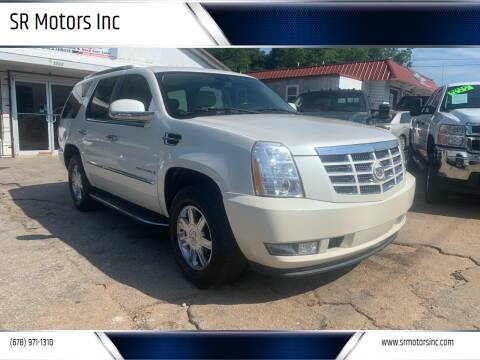 2008 Cadillac Escalade for sale at SR Motors Inc in Gainesville GA