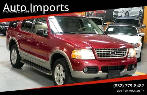 2003 Ford Explorer for sale at Auto Imports in Houston TX