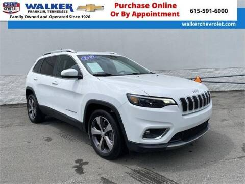 2019 Jeep Cherokee for sale at WALKER CHEVROLET in Franklin TN