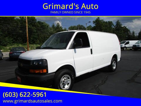 2019 Chevrolet Express Cargo for sale at Grimard's Auto in Hooksett, NH